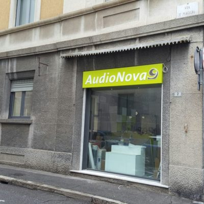 Insegne Audionova Busto Arsizio Varese 02