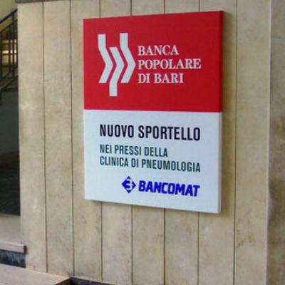 Insegne Banca Popolare Bari 01