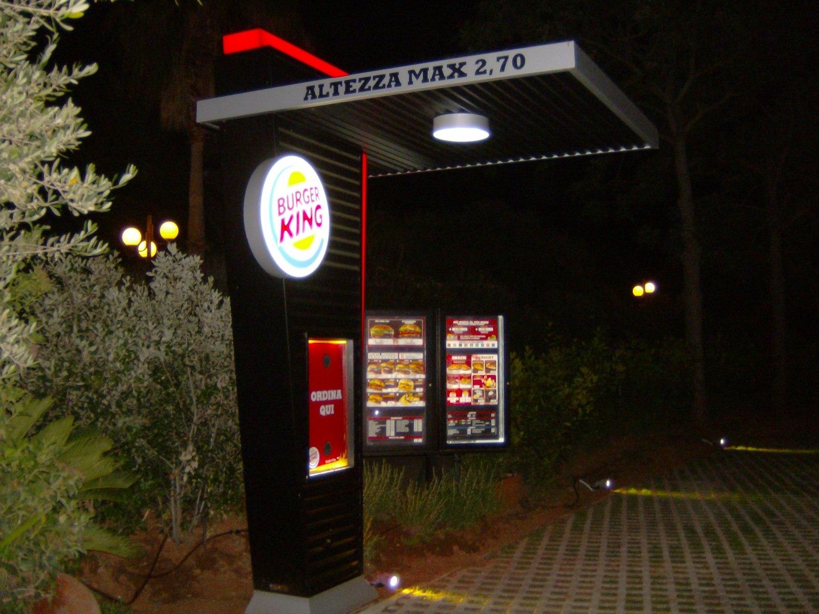 Burger King | Emmebi Sign