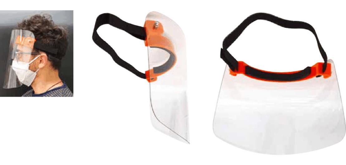 Face shield MB-DPI1